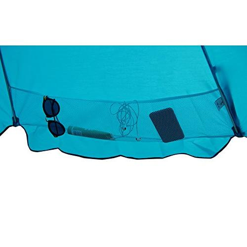 Abba Patio Feet Beach Umbrella with Anchor, Push and Height Fiberglass Umbrella,