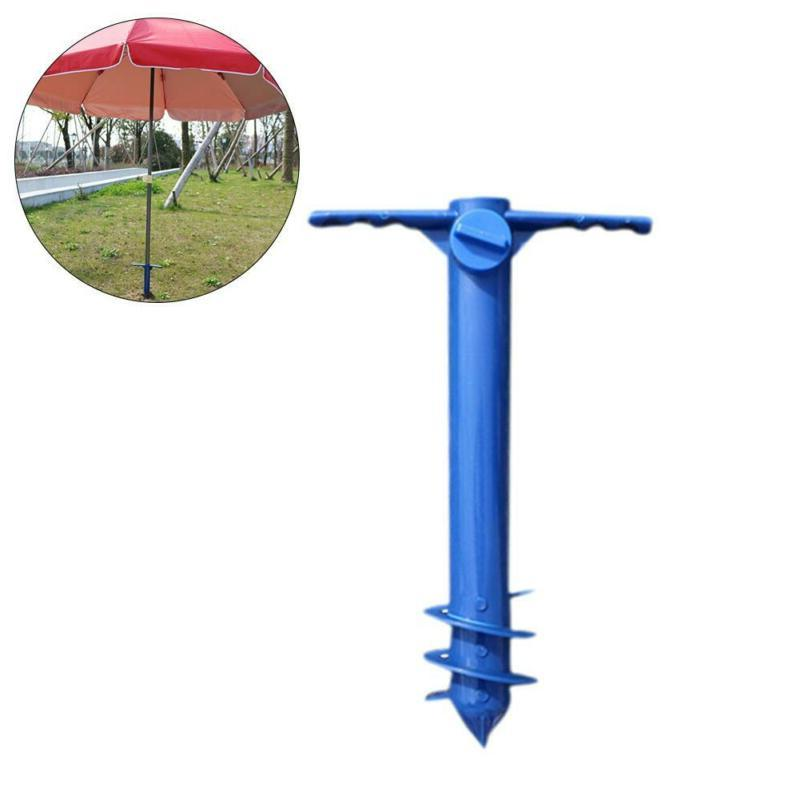 beach umbrella anchor sand auger and fishing