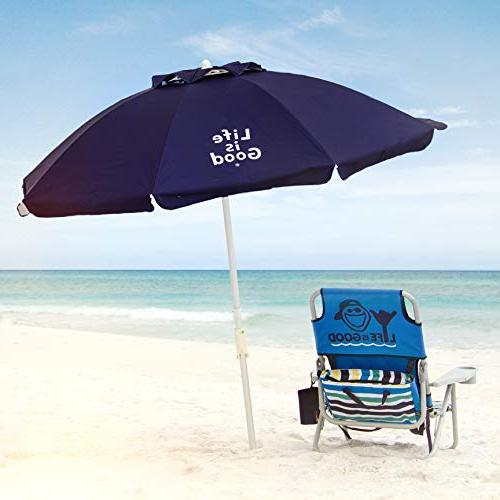 Life Beach Umbrella Towel Telescoping Pole