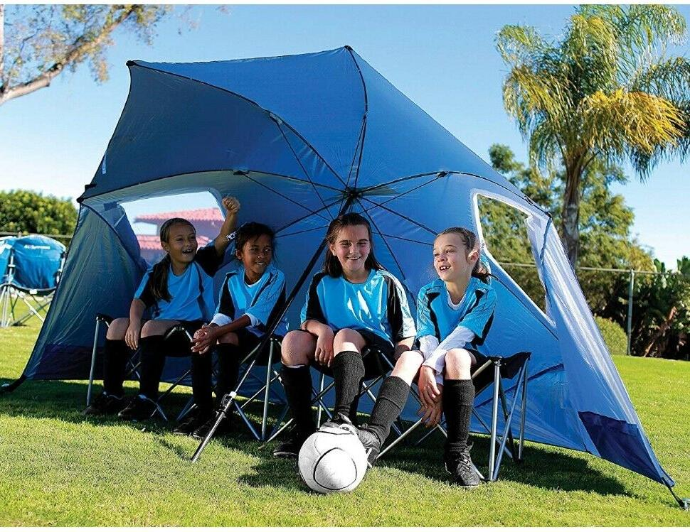 Best Huge Beach Sun Tent Family Pool Camping Sports Shelter XL