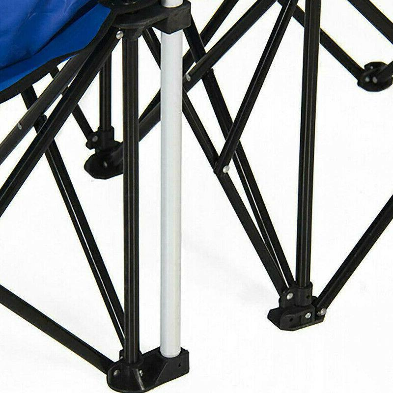 Chair Picnic Double Folding Table Cooler Beach