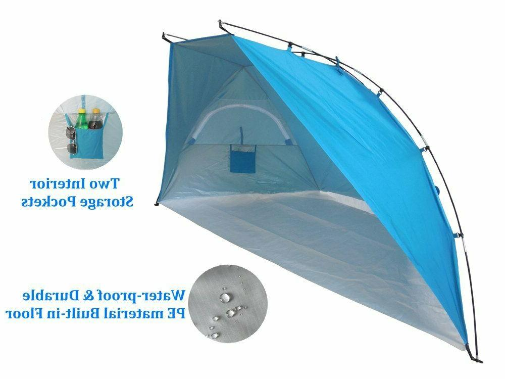 Huge 9-ft Beach Umbrella Sun Tent Camping Sports XL