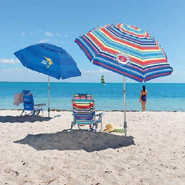 new 7 ft beach umbrella telescoping pole