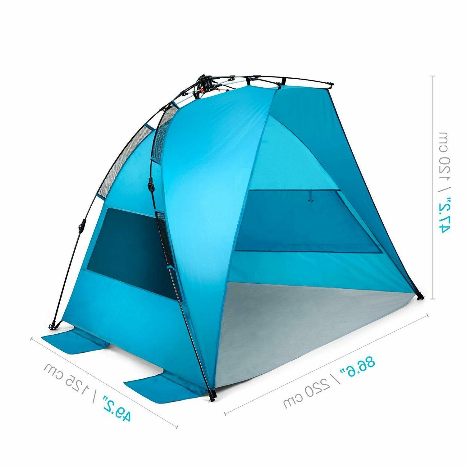 Pacific Breeze Up Beach Tent Unbrella
