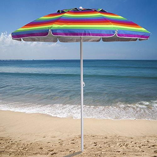 AMMSUN ft Patio Sun Shelter Air Vent Carry Bag Multicolor Red