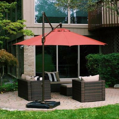 Patio Cantilever Offset Umbrella Base Pack 4 Base Stand New