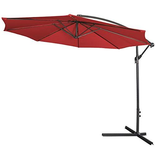 patio sun shade umbrella hanging