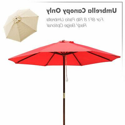 Patio Umbrella Canopy Cover Replacement Market Umbrella 8' 13'