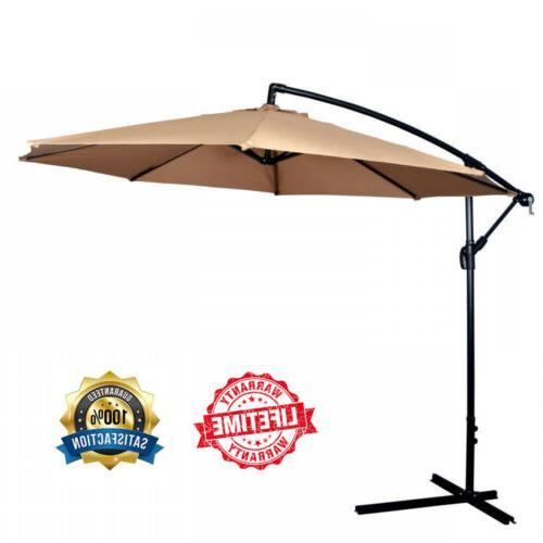 Patio Umbrella Offset Hanging Beach