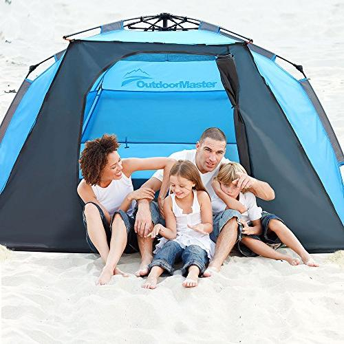 Tent Easy to Set Up, Portable Shade SPF UV Protection Kids &