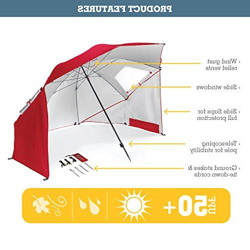 Sport-Brella BRE01-050-02 Portable All-Weather and Sun 8-Foot Canopy