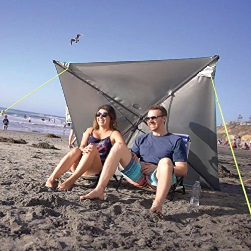 5' For Shade Wind - Carry Bag, Pivot and Ground Stakes,