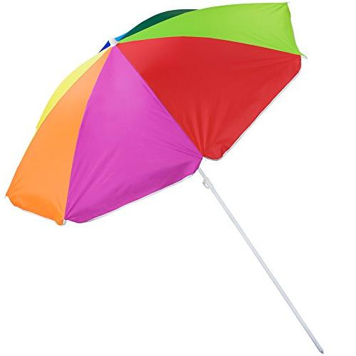 rainbow beach patio umbrella