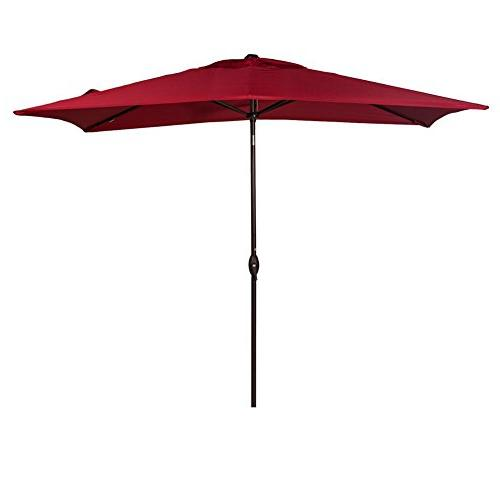 rectangular umbrella market table