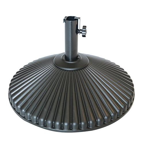 round umbrella base recyclable plastic