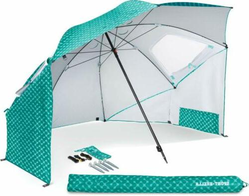 Sport-Brella Portable All-Weather & Sun Umbrella, 8-foot Can