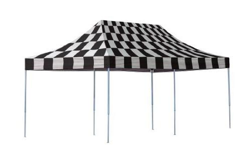 ShelterLogic Set-Up x 20-Feet Straight 50+ UPF Pop-Up Canopy with Roller Bag the Beach, Park, Outdoor