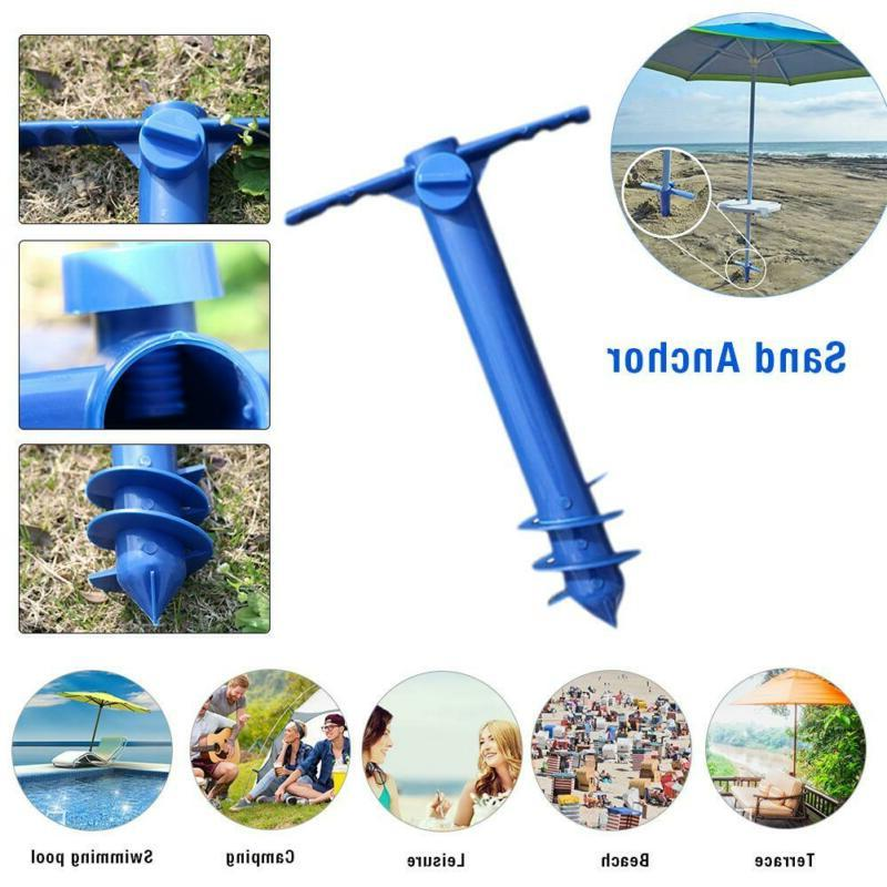 Beach Sand Auger Pole Sand Anchor