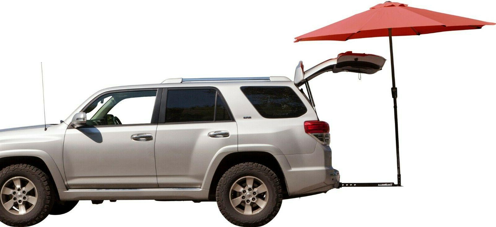 TailBrella The Hitch Umbrella -Tailgating Beach Football Kid