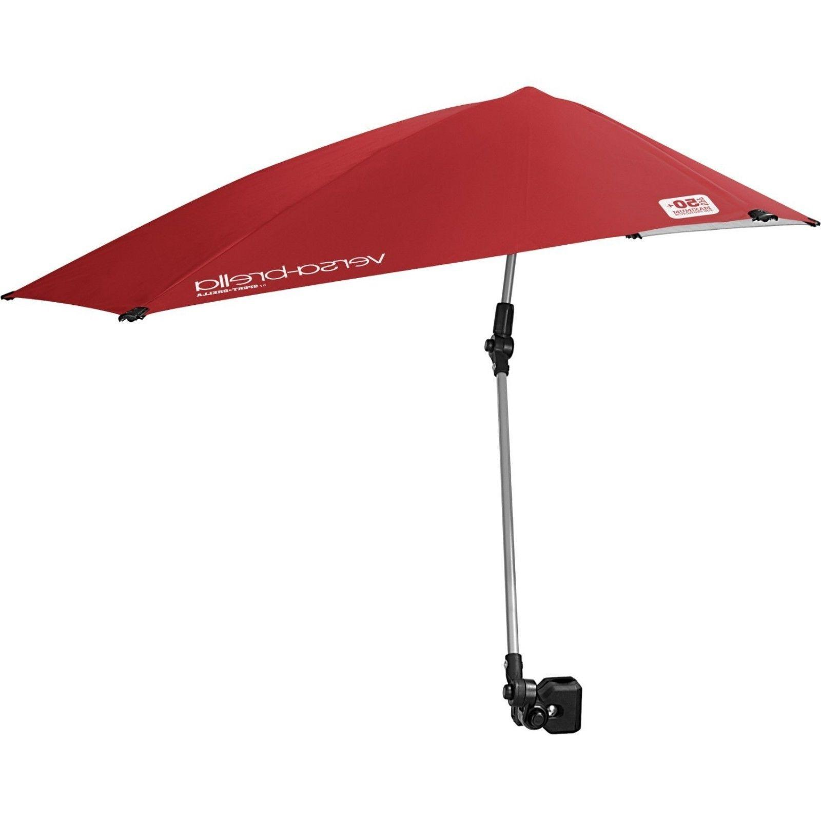 Umbrella With Hiking Accessories