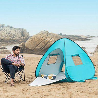 WolfWise UPF 50+ Pop Up Beach Instant Sun Baby