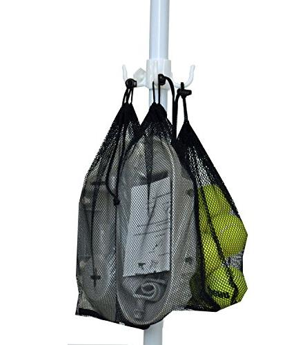 Shadezilla 7.5 Wind Resistant with Dual UPF Carry Bag, Accessory Hanging