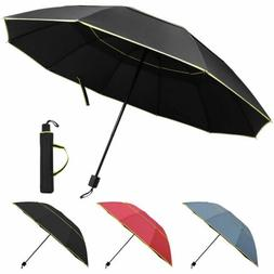 Large Oversize Golf Umbrella Men Women Windproof Rain Sun Fo