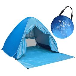 Large Pop Up <font><b>Beach</b></font> Tent Automatic Sun Sh
