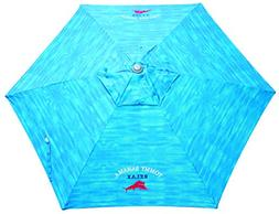 Tommy Bahama Market Umbrella Blue