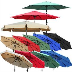 NEW 8ft 9ft 10ft Aluminum Outdoor Patio Umbrella Market Yard