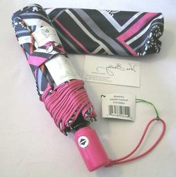 Vera Bradley NORTHERN STRIPES Lights UMBRELLA Rain BEACH Pur