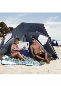 Outdoor Beach Umbrella Canopy Sun Shade Protection Portable