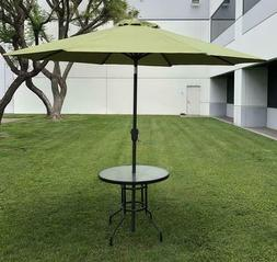 Outdoor Patio Umbrella 9FT Sun Shade Beach Yard Garden Crank