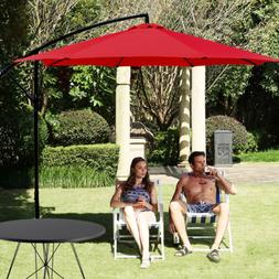 Patio Umbrella Offset Hanging Umbrella 10FT Aluminum Outdoor