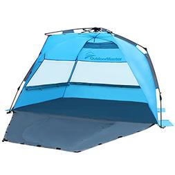OutdoorMaster Pop Up Beach Tent - Easy to Set Up, Portable B