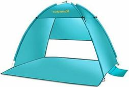 Pop Up Tent AutomaticUV Protect Portable Camping Fishing Bea