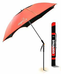 Sunphio Portable Beach Umbrella Heavy Duty with Tilt and Win