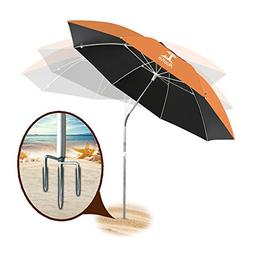 AosKe Portable Sun Shade Umbrella, Inclined, Heat Insulation