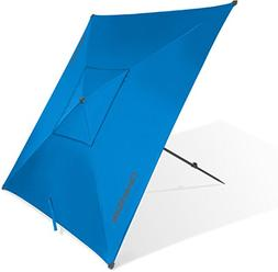 CleverMade QuadraBrella - Portable 5' Outdoor Beach Umbrella