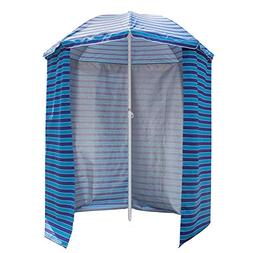 Sundale Outdoor 5.6 Feet Sand Anchor Beach Umbrella Market w