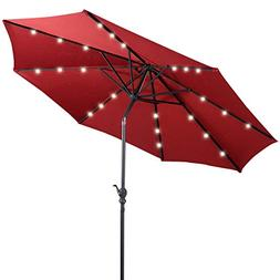 solar patio umbrella sunbrella