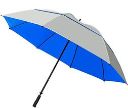 "Suntek 68"" Reflective UV Protection Windcheater Umbrella w"