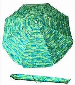 Top Quality Sand Anchor 7 feet Beach Umbrella with Tilt and