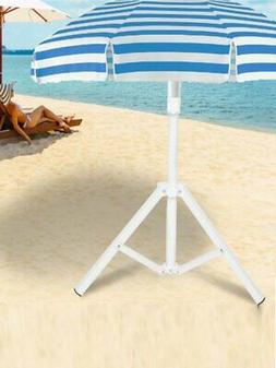 ASHORESHOP Triangular Iron Folding Sun Umbrella Stand Suppor
