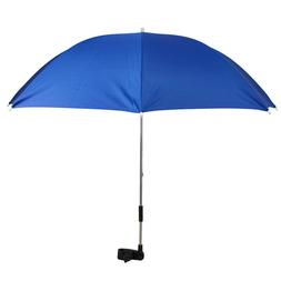 Umbrella Clip On Adjustable Pram Stroller Sun & Rain Shade W