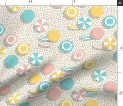 Umbrella Summer Beach Vacation Hot Relax Fabric Printed by S