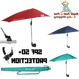 Umbrella Versa Brella SPF 50+ Adjustable Universal  Shade Ca