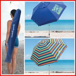 UPF 50+ Tommy Bahama 8-ft Beach Umbrella Summer Umbrella